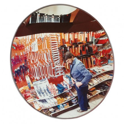 Wide Angle Security Surveillance Wall Mirror  - Detective-X 70cm