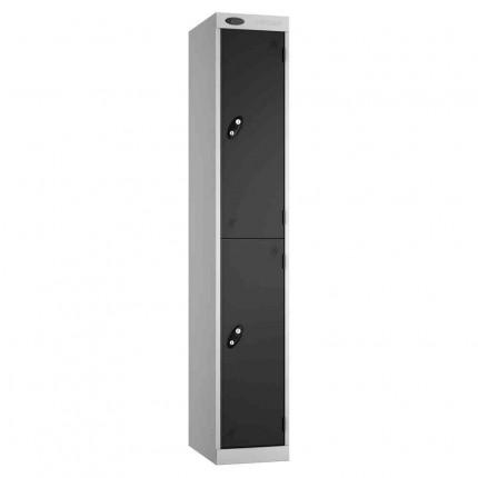 Probe Expressbox 2 Door Locker Key Locking Black