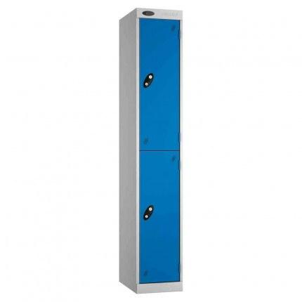 Probe Expressbox 2 Door Locker Key Locking Blue