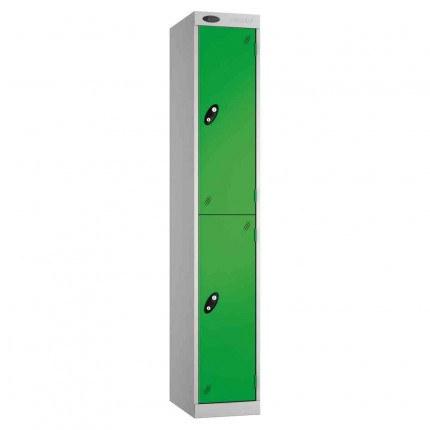 Probe Expressbox 2 Door Locker Padlock Hasp Green