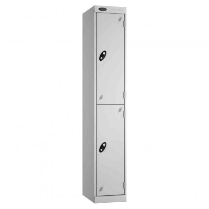 Probe Expressbox 2 Door Locker Key Locking Grey