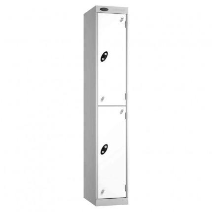 Probe Expressbox 2 Door Locker Key Locking White