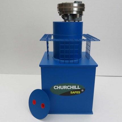 Churchill CS011 G3 £35,000 Rated Floor Security Safe