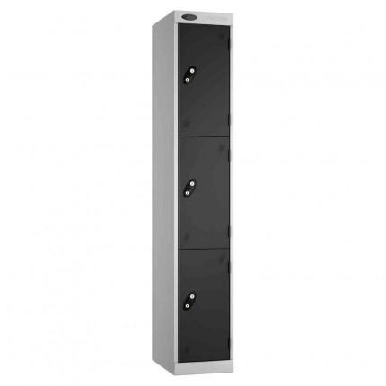 Probe Expressbox 3 Door Locker Padlock Hasp Black