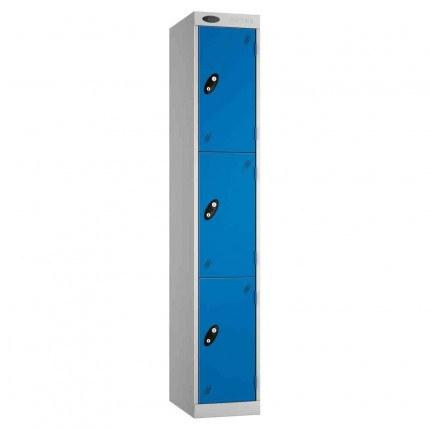 Probe Expressbox 3 Door Locker Key Locking Blue