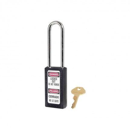 Lock-out Safety Padlock 6mm - Master Lock Zenex 411LT - Black