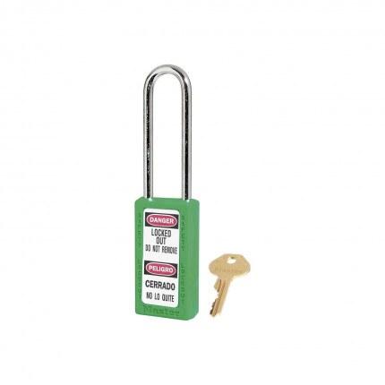 Lock-out Safety Padlock 6mm - Master Lock Zenex 411LT - Green
