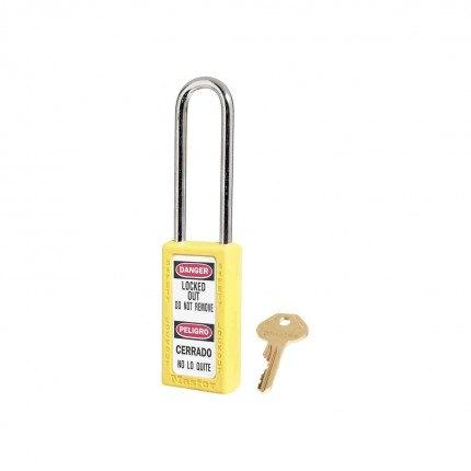 Lock-out Safety Padlock 6mm - Master Lock Zenex 411LT - Yellow