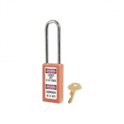 Lock-out Safety Padlock 6mm - Master Lock Zenex 411LT - Orange