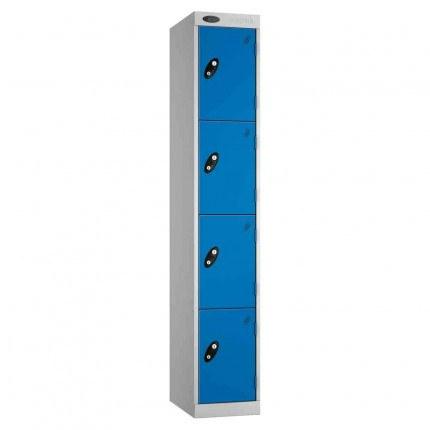 Probe Expressbox 4 Door Locker Key Locking Blue