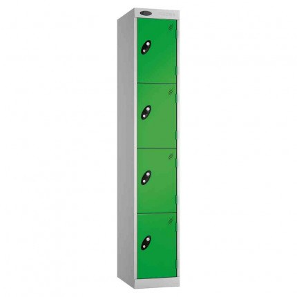 Probe Expressbox 4 Door Locker Key Locking Green