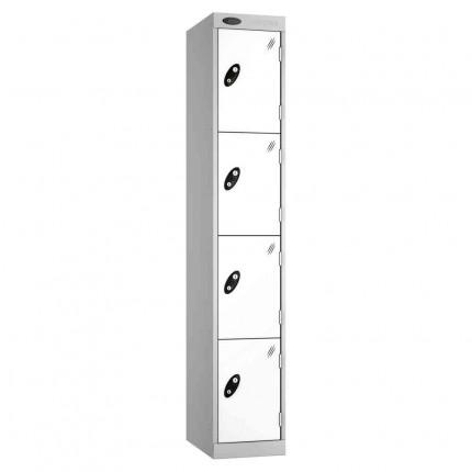Probe Expressbox 4 Door Locker Key Locking White