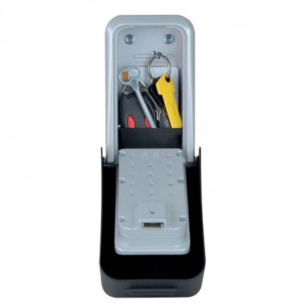 Master Lock 5426 High Security Programmable Key Safe - keys and car transponder