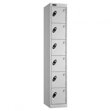 Probe Expressbox 6 Door Locker Key Locking grey