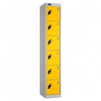 Probe Expressbox 4 Door Locker Padlock Hasp Yellow