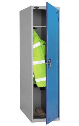 Probe 1 Door Police Combination Locking Large Extra Deep Locker - blue door