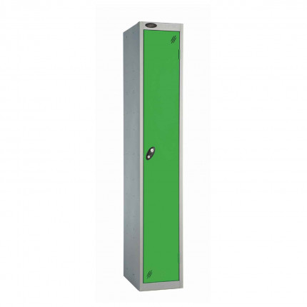 Probe 1 Door High Steel Storage Locker Padlock Hasp Lock - green door