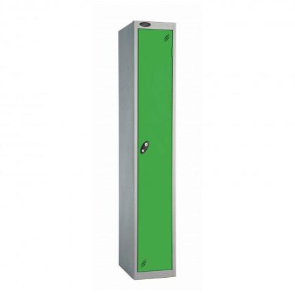 Probe 1 Door High Steel Storage Locker Key Locking green