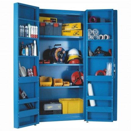 Heavy Duty Steel Welded Cabinet 200x100x60cm - Bedford Morstor 79216MS