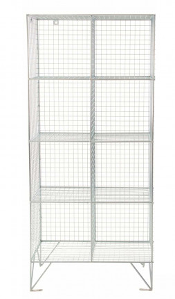 Robinson 8 Door Metal Wire Mesh 8mm Storage Locker
