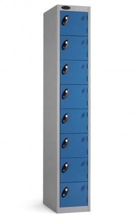 Probe 8 Door Personal Effects Key Locking Storage Locker doors closed