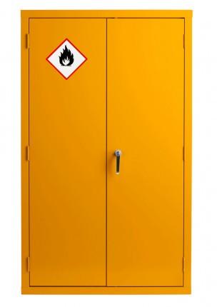 Bedford 88F594 Yellow Flammable 2 Door 1525H mm Cabinet