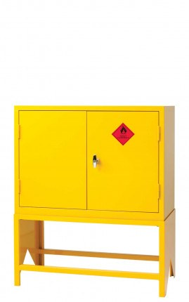 Flammable Hazardous Cabinet with Stand - Bedford 794FFS3