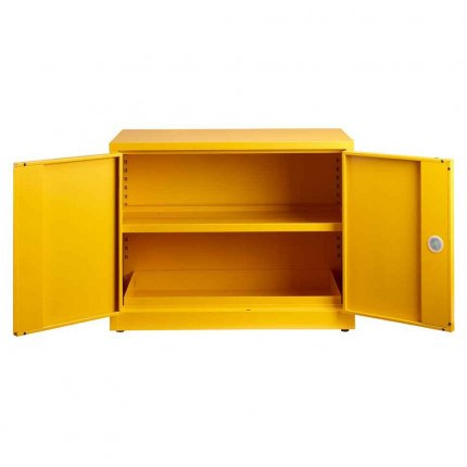 Flammable Hazardous COSHH Cabinet - Bedford 88F794  - doors open