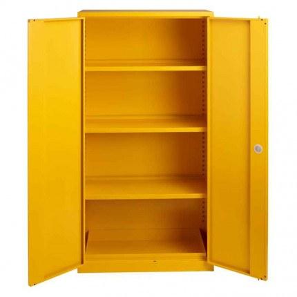 Bedford Flammable Hazardous 894 Cabinet  - Doors Open