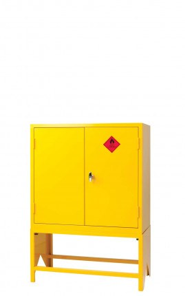 Flammable Hazardous Cabinet with Stand - Bedford 994FFS3