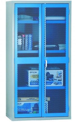 Steel Mesh 2 Door Welded Cabinet 183x92x46 - Bedford 88MD894
