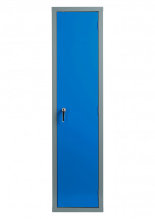 Bedford 88W844 Fully Welded 1 Door High Slim Steel Cabinet