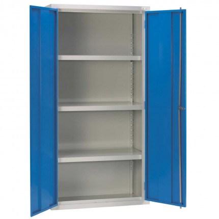 Medium Duty Fully Welded Steel Cabinet 1830x915x460 - Bedford 88W894 open