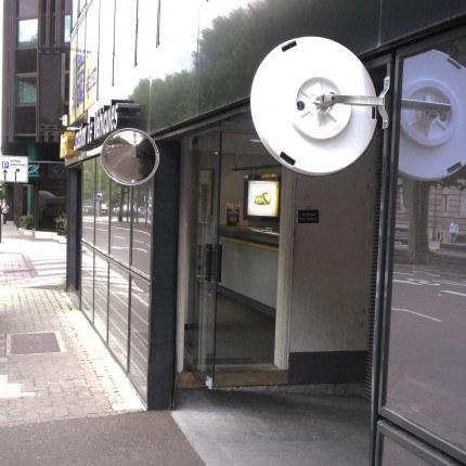 Vialux 9060 Blindspot Convex Mirror 600mm Diameter outside