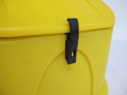 Armorgard GritKart Mobile Storage for Grit and Salt  Hasp and Staple