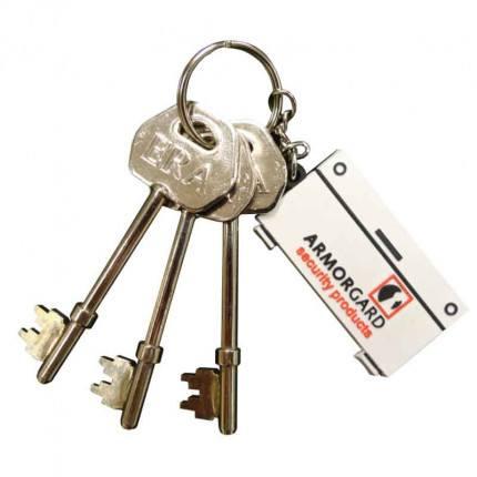 Armorgard Security Genuine Replacement Set of 3 Keys