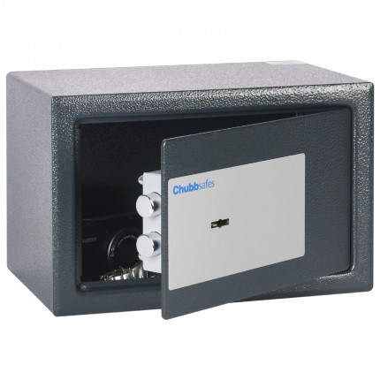 Chubbsafes Air 10K Slightly open showing 2 locking bolts