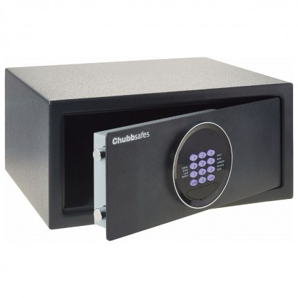 Chubbsafes Air Hotel comes with key hooks in all electronic safes