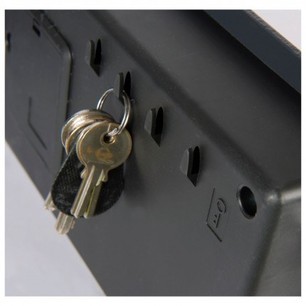 Key hooks inside all electronic Air Safes