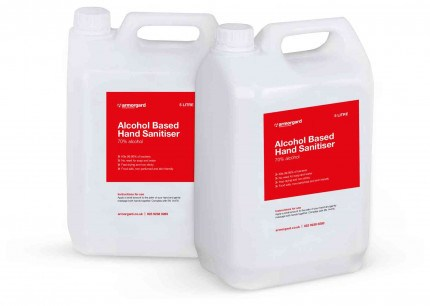Armorgard Sanistation 5 litre Sanitiser bottle