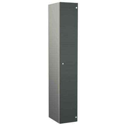 Probe ZENBOX Aluminium Single Laminate Door Locker in Dark Grey