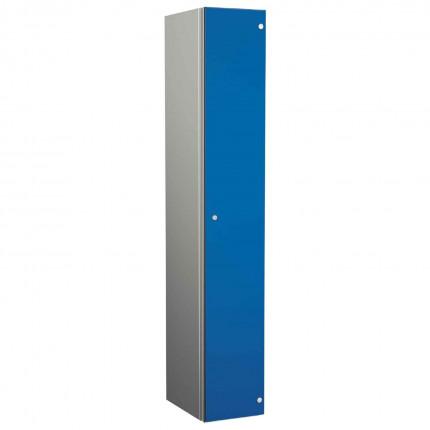 Probe ZENBOX Aluminium Single Laminate Door Locker in Electric Blue