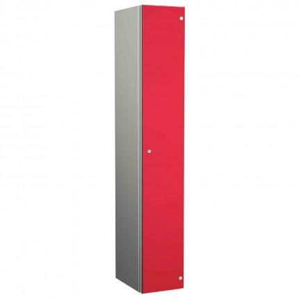 Probe ZENBOX Aluminium Single Laminate Door Locker in Red Dynasty