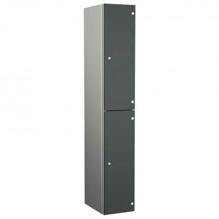 Probe ZENBOX Aluminium Two Laminate Door Locker in Dark Grey