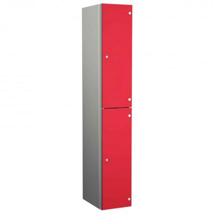 Probe ZENBOX Aluminium Two Laminate Door Locker in Red Dynasty