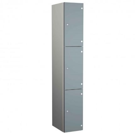 Probe ZENBOX Aluminium Three Laminate Door Locker in Dust