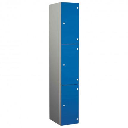 Probe ZENBOX Aluminium Three Laminate Door Locker in Electric Blue