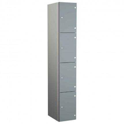 Probe ZENBOX Aluminium Four Laminate Door Locker in Dust