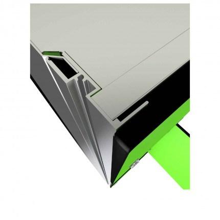 Probe ZENBOX Aluminium showing flush frame for zero gap