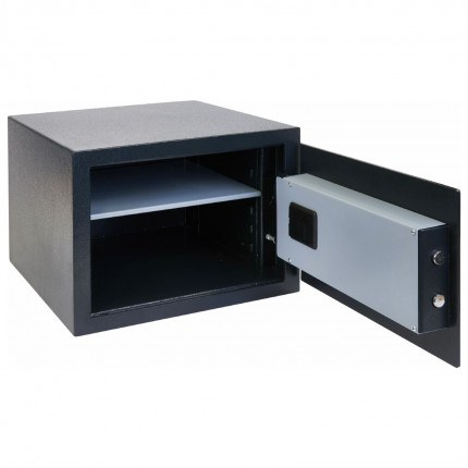 AlphaPlus 3E Empty fully open safe comes with an LED internal light
